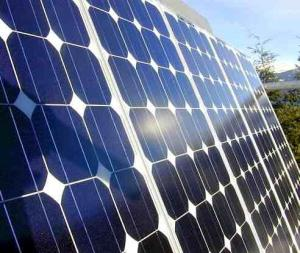 Sustainable energy with photovoltaic solar systems Image ©