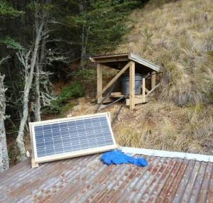 Solar energy for camping or caravans Image ©