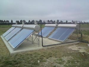 Using photovoltaic sustainable energy on the farm Image ©