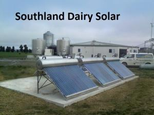 Southland dairy farm using solar Image ©