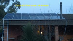 4.2kw grid tied system in St Andrews Image ©